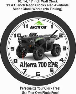 2020 ARCTIC CAT ALTERRA 700 EPS ATV WALL CLOCK-FREE USA SHIP