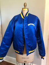 Vintage Starter Milwaukee Brewers MLB Baseball Satin Snap Jacket Mens large L