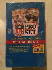 1991 Pro Set Series 1 Football Cards, Sealed 36 ct. Box