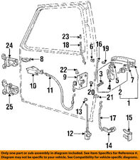 FORD OEM 92-98 F-250 Front Door-Lock Latch Kit F4TZ15219A64A