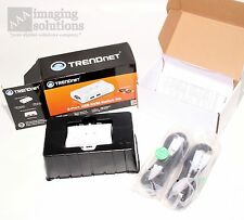 Trendnet 2-Port USB KVM Switch Kit: KVM TK-207K (Cables Included) - white - NICE