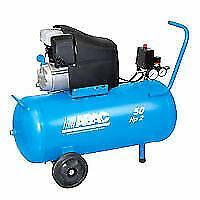 Abac MONTECARLO L20 Compressore Aria a Pistone 50L - Blu