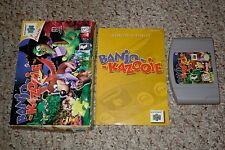 Banjo-Kazooie (Nintendo 64 n64, 1998) Complete in Box GREAT A