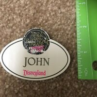 Disney Main Street Electrical Parade Farewell Cast Member Name Badge Tag John