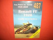 Militaria Tank Power Vol.CCXXI Ledwoch 487, RENAULT FT 1920