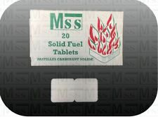 Mss Steam Engine Solid Fuel 20 Tablets (1 Packet)