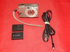 Canon PowerShot Digital ELPH S100 / Digital IXUS 2.0MP Digital Camera - Silver