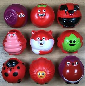 Red Nose Day 2021 : Full Set of Nine Red Noses - NEW - Comic Relief