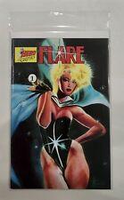 FLARE Hero Graphics, Vol.2 , No.1 - Comic Book (1990)