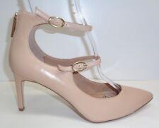 8e3a604b8a9bbf BCBG BCBGeneration Size 10 M ZALUCA Beige Leather Heels Pumps New Womens  Shoes
