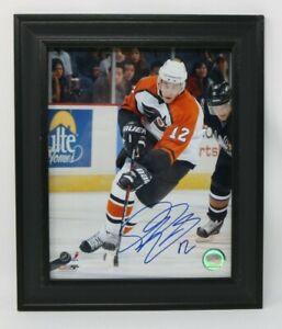 Philadelphia Flyers Hockey Autograph Simon Gagne #12 Signed Photo NO RESERVE