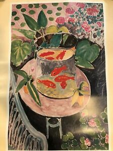 """Old Masters, Impressionists, and Moderns Henri Matisse """"The Goldfish"""" Poster"""