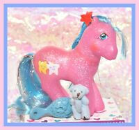 ❤️My Little Pony MLP G1 Vtg 1987 Sparkle STARDANCER Star Dancer Glitter Tinsel❤️
