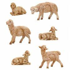 "Roman Fontanini 3.5"" Collection Sheep, 6 Piece Set (55016)"