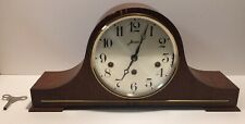 Haid Westminster Mantle Chime Clock 3 Key Two 2 Jewels FOR PARTS / NOT WORKING