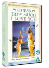 Guess How Much I Love You NEW PAL Kids and Family DVD David Wood