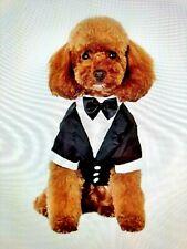 Pet Dog Tuxedo Black Tie Affair Weddings Party Animal Size Small