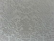 Unmounted A2 Stamp for Polymer Clay ~ PERSIAN RUG ~ PrintMakers Rubber Stamp