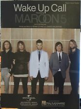 Wake Up Call - Maroon 5 - 2007 US Sheet Music