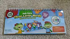 Leap Frog Word Building Flip-book w/ Dry Erase Cards Recommended Reading Level P