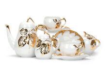 Dulevo Porcelain Coffee or tea set Apple Garden design 6 persons 15 pcs