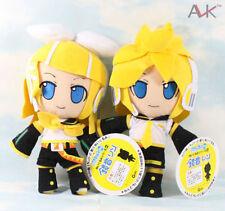 2X Free ship! 11'' Vocaloid Hatsune Miku Kagamine Rin AND Len plush stuffed doll