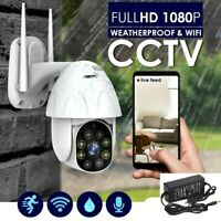 Wireless HD 1080p IP Security Camera Outdoor Waterproof 2.4G IP/PTZ Video Night
