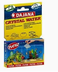 Crystal Water - filter bag - 1 bag per 50l / 2 bags per pack - terrarium / tank