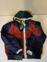 EAST WEST Vtg 90's Women's Nylon Track Suit Hip Hop Windbreaker Pants Small