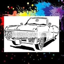 Buick Classic Car Airbrush Stencil,Template