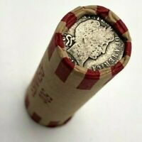 SILVER BARBER DIMES On BOTH ENDS - Sealed Lincoln Wheat Penny Cent Roll