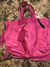 "Marc by Marc Jacobs NWT ""Preppy Legend Eliz-A-Baby"" Hot Pink Diaper Bag $348new"