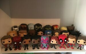 Marvel Funko Pop Vinyl Collection Avengers OUT OF BOX Bobble Heads