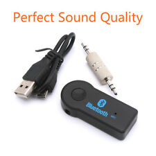 3.5mm Wireless USB Mini Bluetooth Aux Stereo Audio Music Car Adapter Receiver#EK