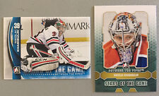 2 Nikolai Khabibulin ITG Between Pipes Cards 2012-13 #93 & 2013-14 Greats #22