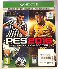PES 2016 PRO EVOLUTION SOCCER DAY ONE EDITION Neuf sous blister Jeu XBOX ONE