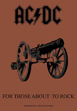 AC/DC - For those about to Posterfahne Fahne 719