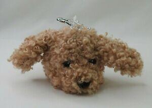 New Bath & Body Works Labradoodle Puppy Dog Pocket *Bac Holder Furry Clip
