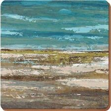 Creative Tops Horizon Opulence Square Cork-backed Placemats by Set of 4