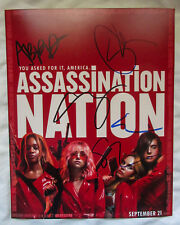 Young Neff Abra Suki +1 FULL CAST Signed Assassination Nation Photo EXACT Proof