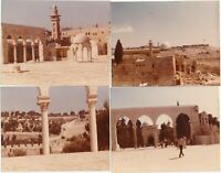 M9 Vintage Snapshots (4) Photos in Israel / Jerusalem Dome of The Rock 1970's #2