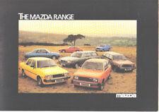 Mazda Range RX7 323 Montrose 929  B1800 1980 Original UK Sales Brochure