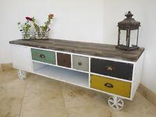 Retro Vintage Industrial TV Cabinet /urban /vintage /media store unit (3364)