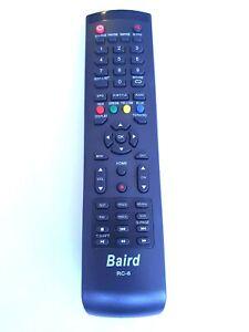 Genuine Baird SMART TV RC-6 REMOTE CONTROL TI4309DLEDDS