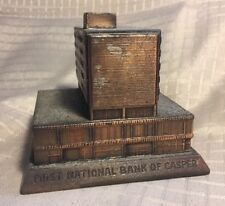 Original Banthrico Coin Bank-1st Nat'l Bank of Casper, WY-E Rated