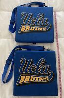 UCLA BRUINS Stadium Seat Cushion Bleacher Seat W Storage - set of 2