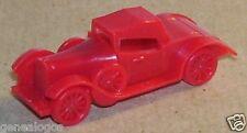 CHARM FEVE PENDENTIF 3D TACOT ROLLS ROYCE 1931 COULEUR ROUGE HO 1/87