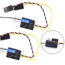 2X Flysky FS-A8S V2 8CH Mini Receiver w/ PPM i-BUS SBUS Output For FS i4 i6 i10.