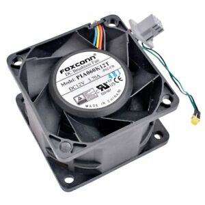 PIA060K12T 6cm 60mm DC12V 3.70A large air volume cooling fan for server chassis