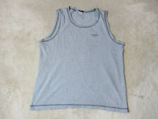 ab2e0ae4 VINTAGE Tommy Hilfiger Tank Top Adult Extra Large Gray Gym Spell Out Mens  90s *